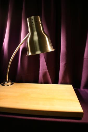 Carving Board w/ Heat Lamp