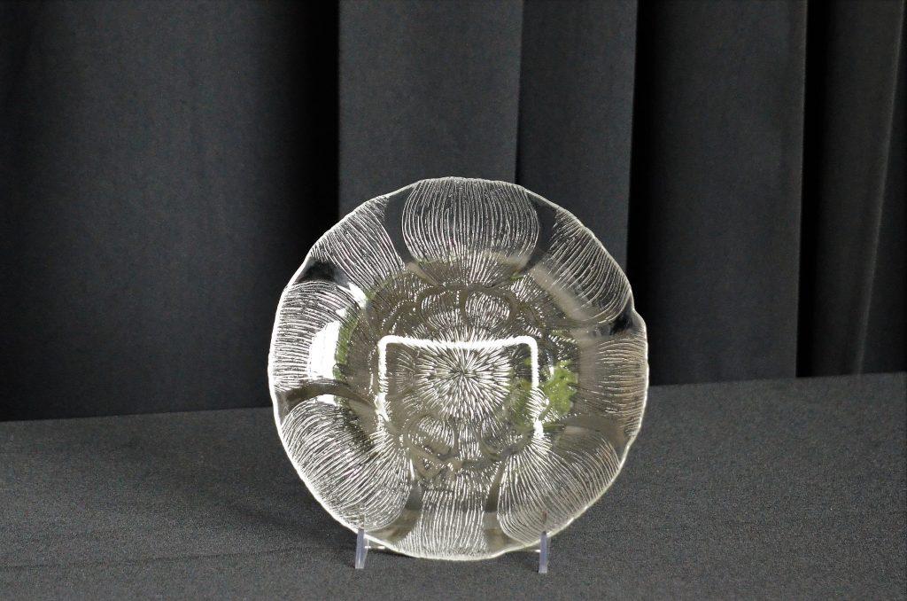 Glass Salad Plate