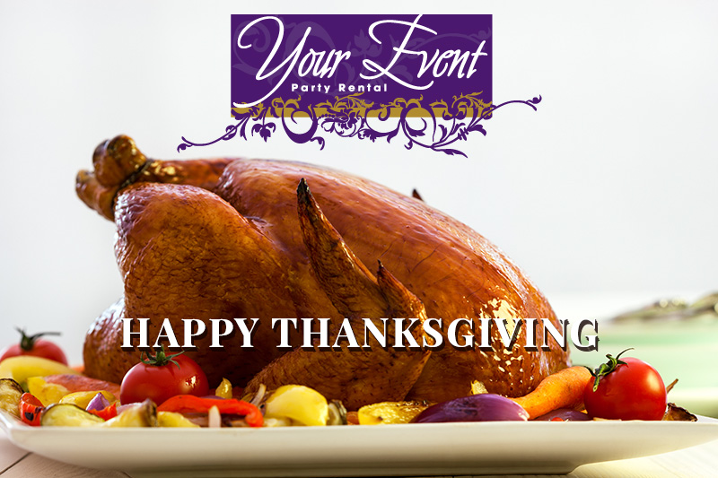 Your Event Party Rentals Thanksgiving 2019